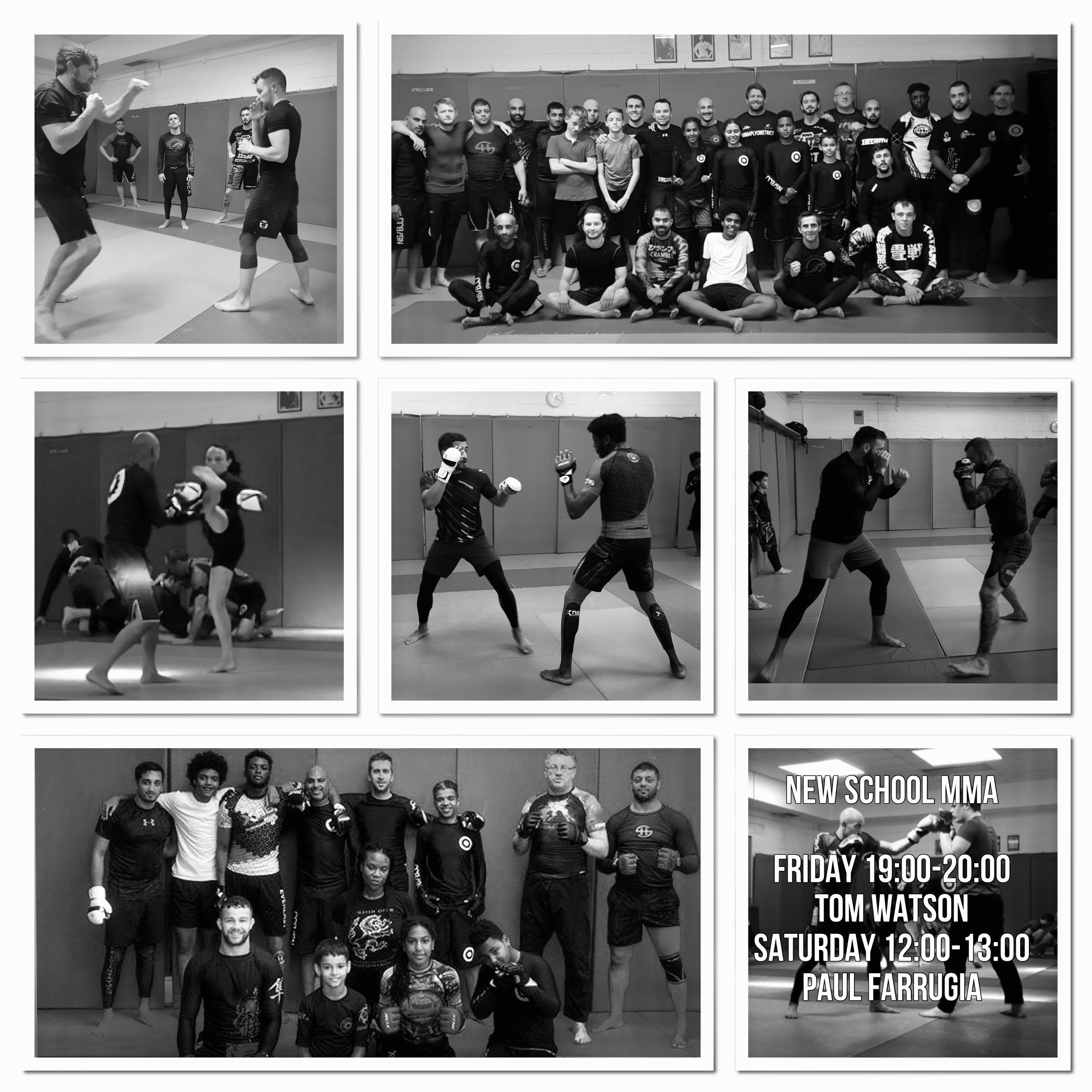 New School MMA – Class Act