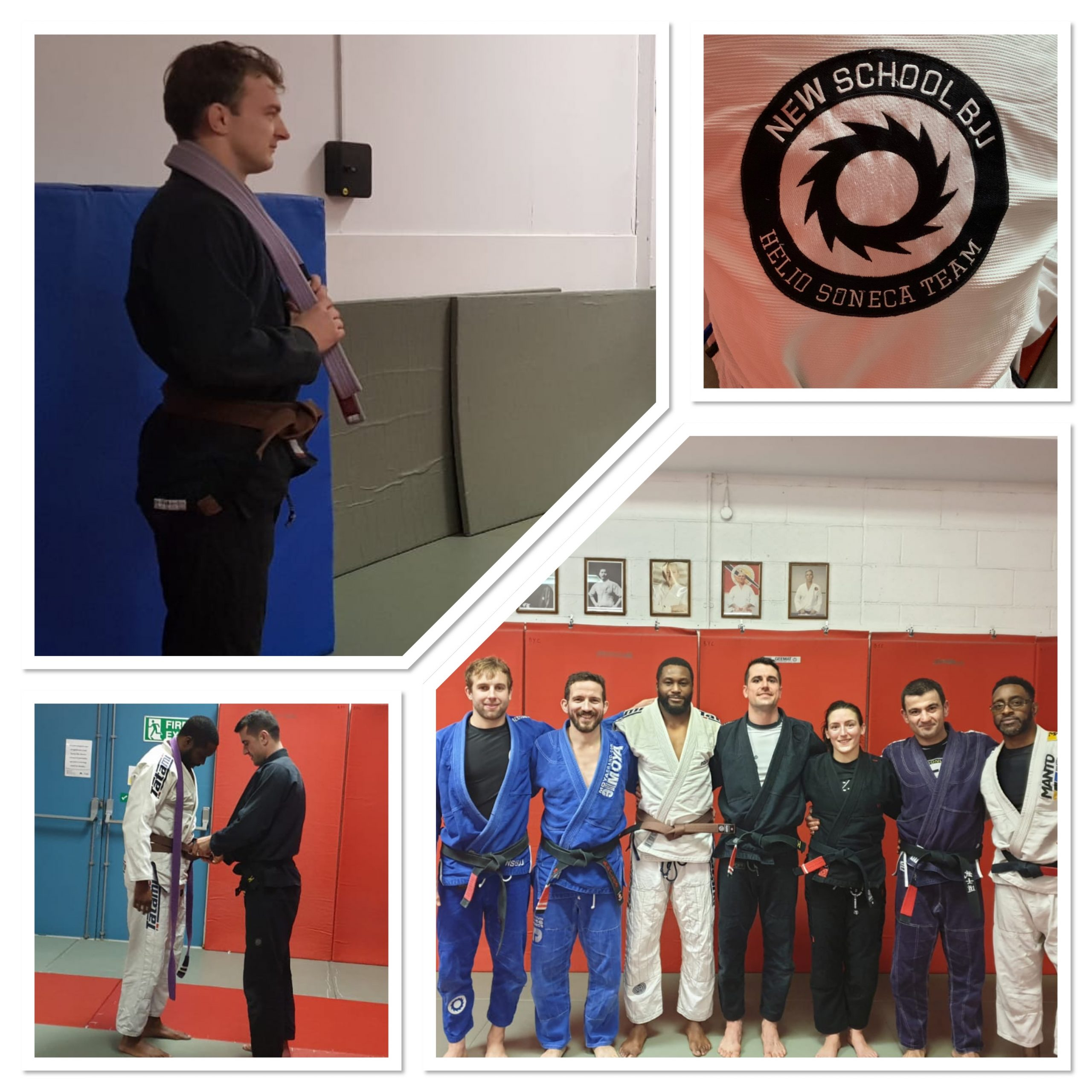 Two New Brown Belts